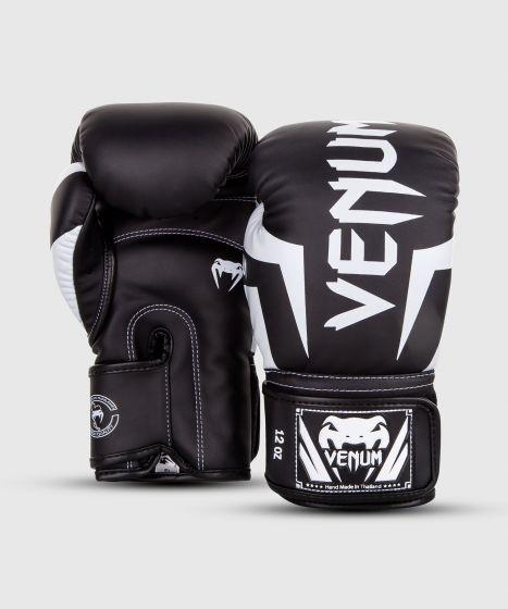 Guantes de Boxeo Venum Elite - Negro/Blanco
