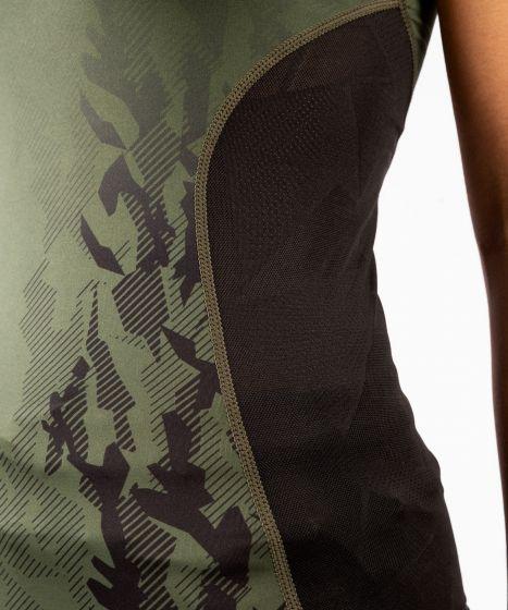 UFC Venum Authentic Fight Week Women's Performance Tank Top - Khaki