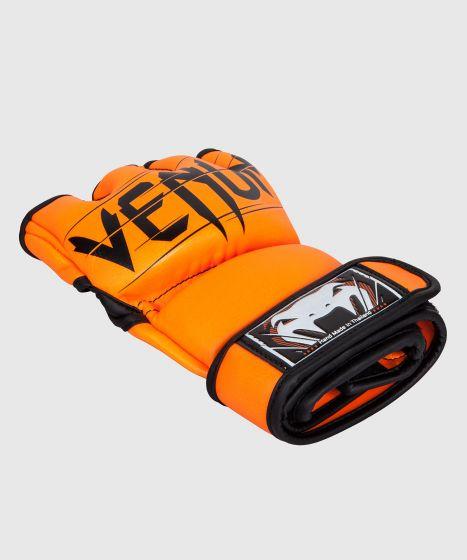 Guanti da MMA Venum Undisputed 2.0 - Pelle Skintex - Arancioni neo