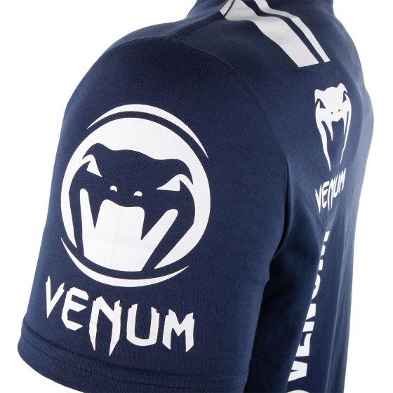 Venum Logos T-shirt - Marineblauw/Wit