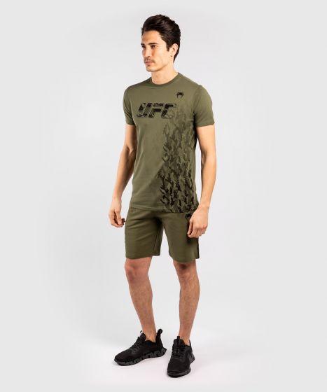 Short de Sport en Coton Homme UFC Venum Authentic Fight Week - Kaki