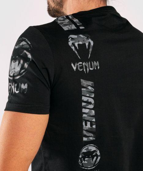T-shirt Venum Logos - Noir/Urban camo