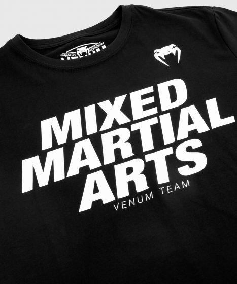 Camiseta MMA VT de Venum - Blanco/Negro