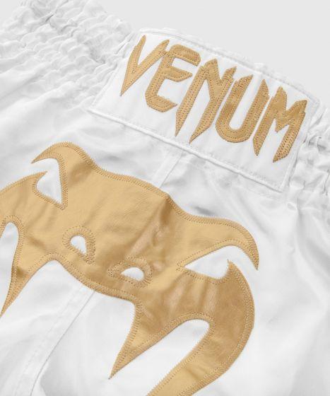 Pantaloncini Muay Thai Bangkok Inferno Venum - Bianco/Oro