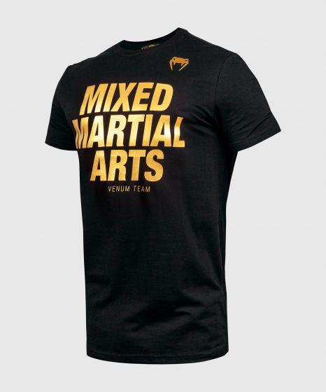 T-shirt Venum MMA VT  - Noir/Or