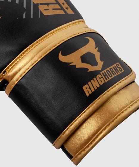 Gants de boxe Ringhorns Charger MX - Noir/Or