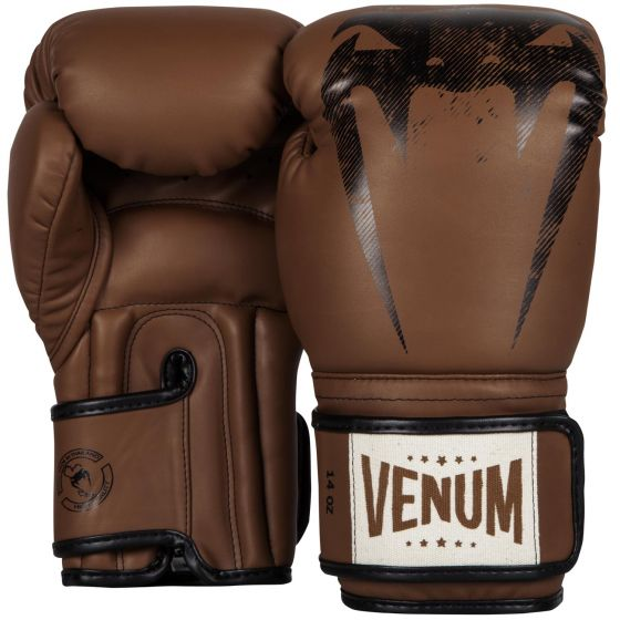 Venum Giant Sparring Boxing Gloves - Brown