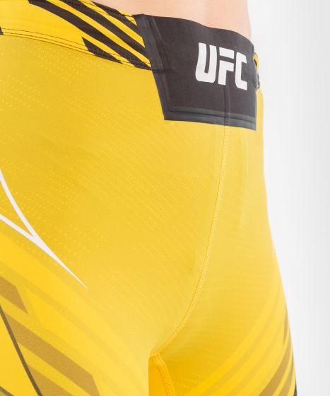 Short de Vale tudo Femme UFC Venum Authentic Fight Night - Coupe Longue - Jaune