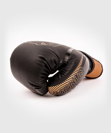 Venum Impact Boxing Gloves - Black/Bronze