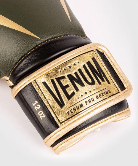 Guantoni da boxe professionali Venum Giant 2.0 – Velcro - Cachi/Oro