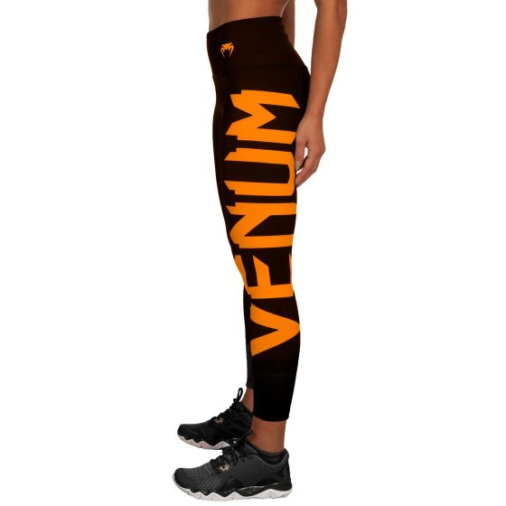 Venum Giant Leggings - Zwart/Koraalrood