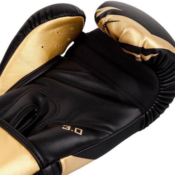 Guantes de Boxeo Venum Challenger 3.0 - Negro/Oro