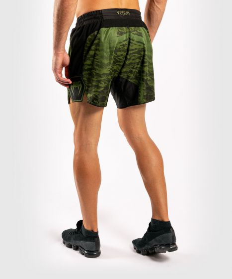Pantalón corto de lucha Venum Trooper - Camo Bosque/Negro