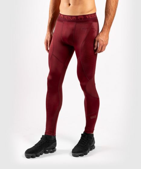 Pantalon de Compression Venum G-Fit - Bordeaux