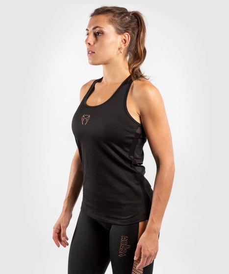 Venum Tecmo Tank Top - For Women - Black/Bronze