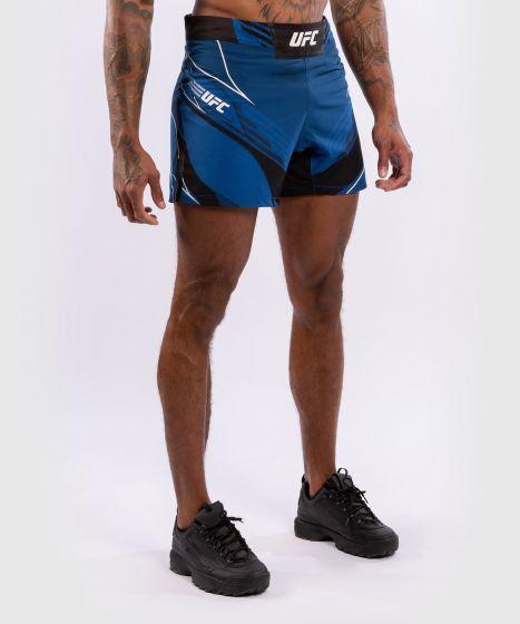 Pantalón De MMA Para Hombre UFC Venum Authentic Fight Night – Modelo Corto - Azul