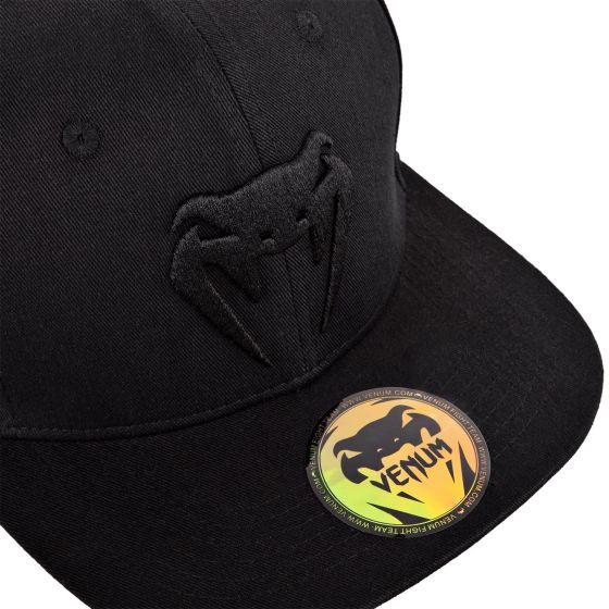 Gorra Snapback Venum Classic  - Negro/Negro