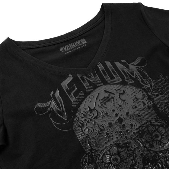 Venum Santa Muerte 3.0 T-shirt - Black/Black - For Women