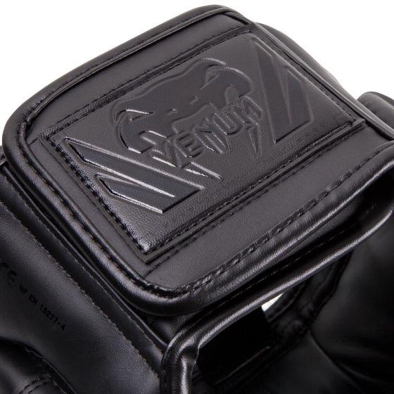 Caschetto da boxe Venum Iron Elite - Nero/Nero