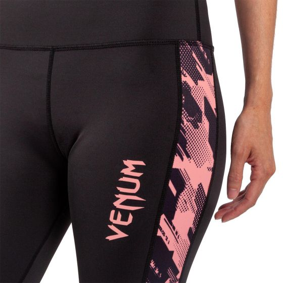 Legging Donna Venum Tecmo - Nero/Rosa