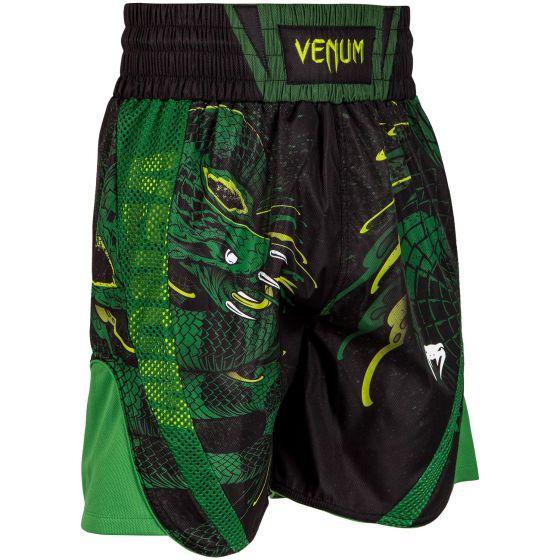 Short de Boxe Venum Green Viper - Noir/Vert