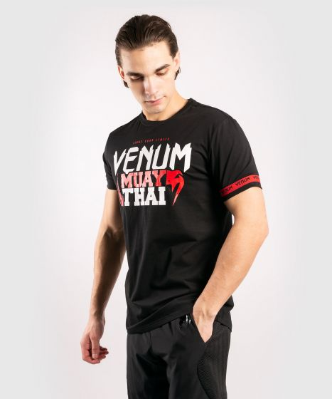 Venum MUAY THAI Classic 20 T-Shirt Black/Red