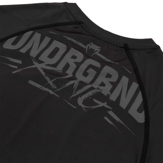 Rashguard Venum Underground King - Mangas cortas - Negro / Arena