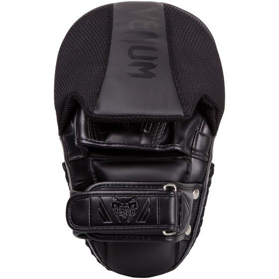 Venum Elite Big Focus Mitts - Black/Black