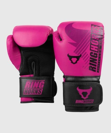 Guantoni da boxe Ringhorns Charger MX - Viola/Nero