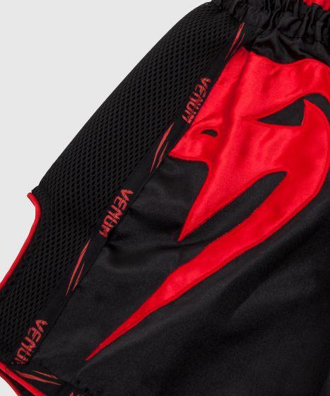 Venum Giant Muay Thai Short - Zwart/Rood