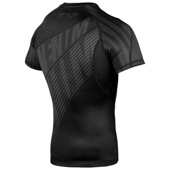 Venum Plasma Rashguard - Short Sleeves - Black/Black