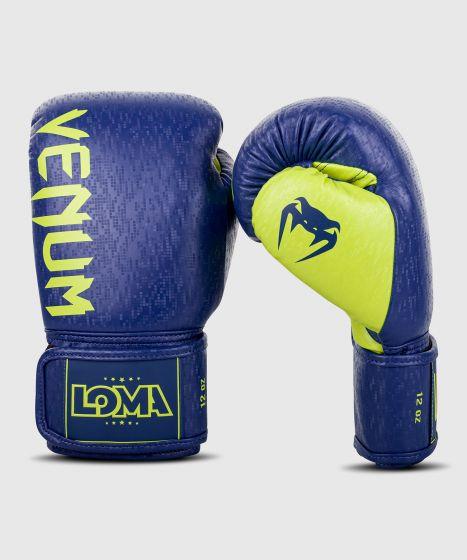 Guantes de boxeo Venum Origins Edición Loma - Azul/Amarillo