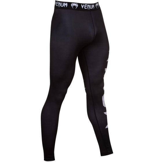 Pantaloni a compressione Venum Giant - Nero/Ghiaccio