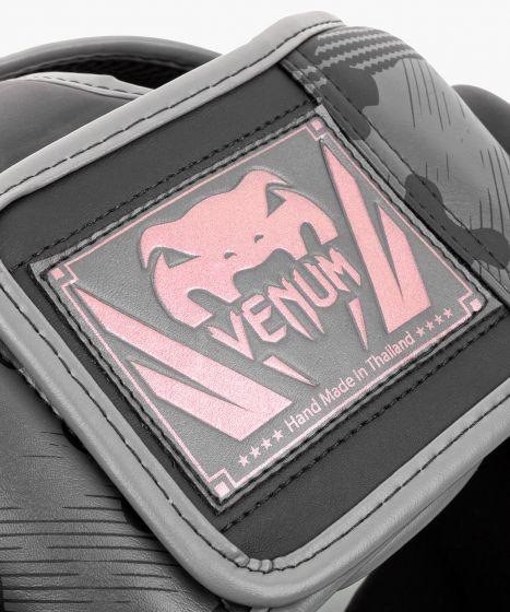 Venum Elite Boxing Headgear - Black/Pink Gold