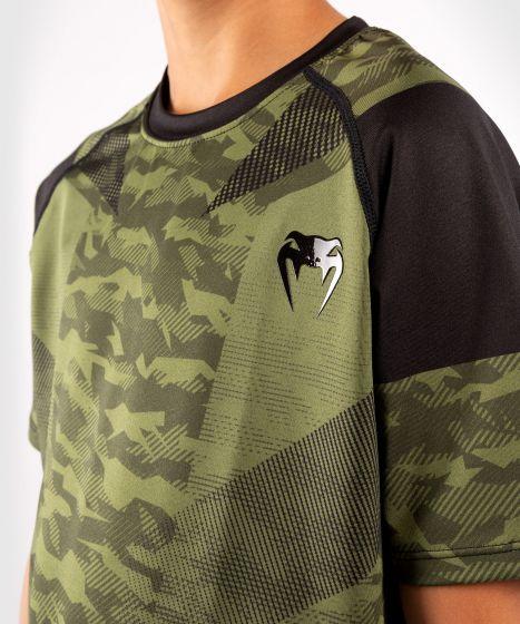 T-shirt Venum Trooper Dry-Tech per bambini - Camo foresta/Nero