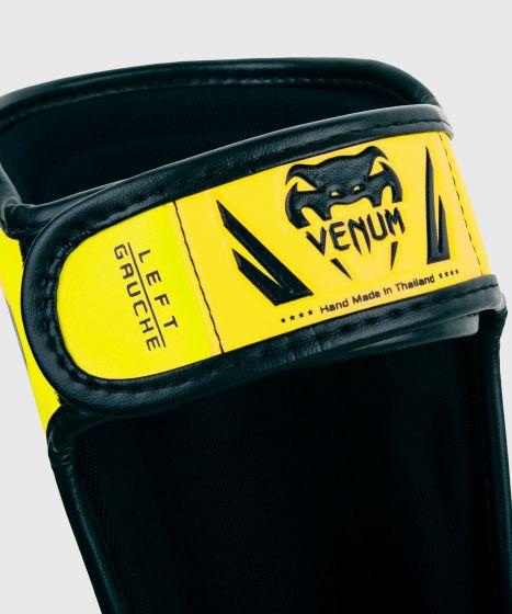 Venum Elite Shin Guards Kids - Exclusive - Neo Yellow