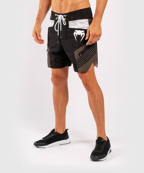 Pantaloncini da bagno Venum cargo - Nero/Grigio