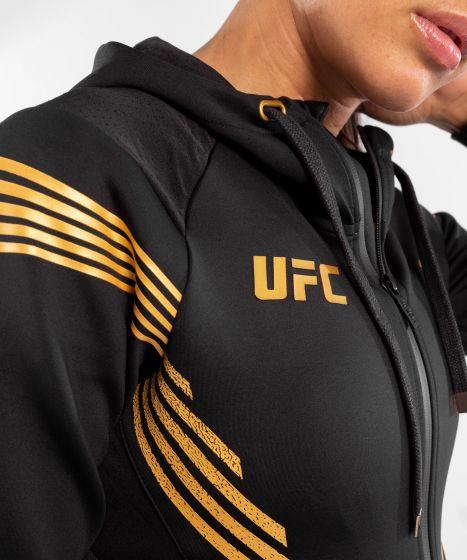 Felpa Con Cappuccio Walkout Donna Personalizzata UFC Venum Authentic Fight Night - Campione