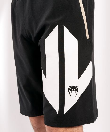 Pantalones cortos deportivos Venum Arrow Loma Signature Collection - Negro/Blanco