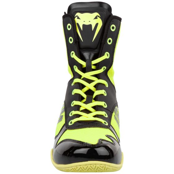 Venum Elite VTC 2 Edition Boxing Shoes - Neo Yellow/Black