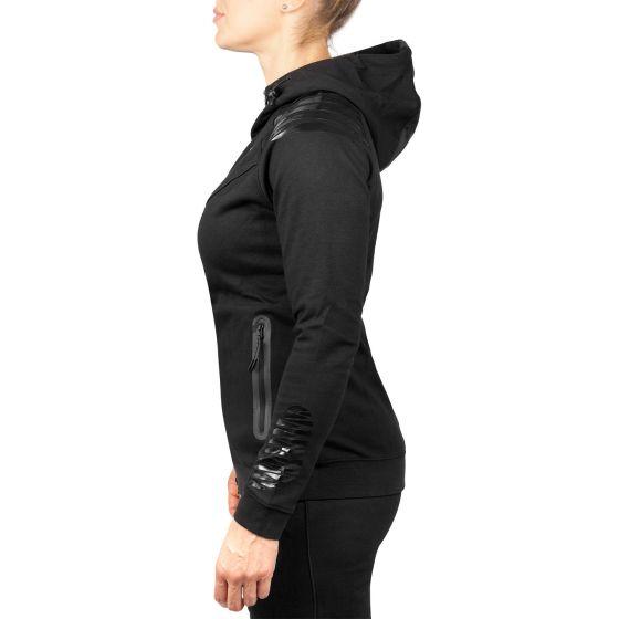 Venum Laser Hoody - Für Frauen - Exklusiv - Schwarz/Schwarz