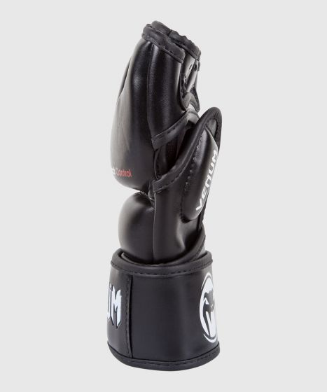 Venum Impact MMA Handschoenen - Skintex Leder - Zwart