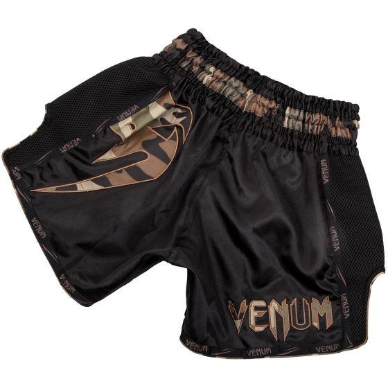 Venum Giant Muay Thai Short - Zwart/Boscamouflage