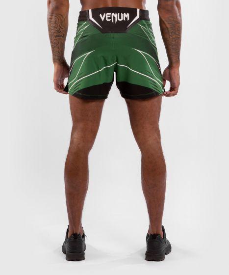 Pantalón De MMA Para Hombre UFC Venum Authentic Fight Night – Modelo Corto - Verde