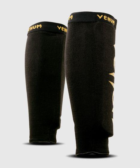 Protège-tibias sans pied Venum Kontact - Paire - Noir/Or