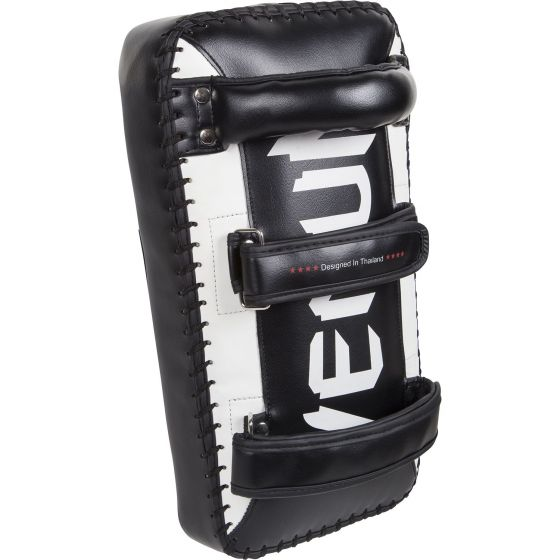 Escudos para patadas Venum Absolute - Negro/Blanco (Par)