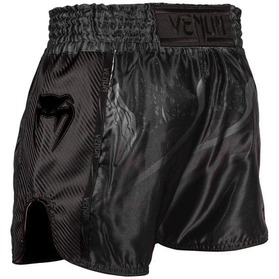 Venum Devil Muay Thai Shorts - Black/Black