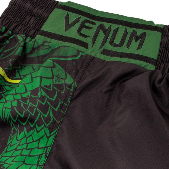 Pantaloncini da boxe Venum Green Viper - Neri/Verdi