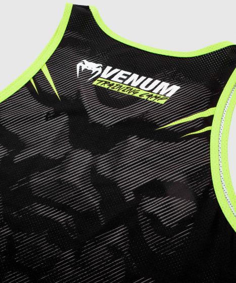 Camiseta sin Mangas VTC 2.0 – Negro/Amarillo Fluo