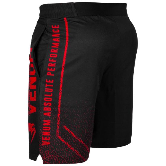 Venum Signature Trainingsshorts - Schwarz/Rot